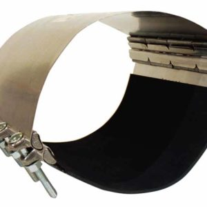 S.S. PIPE REPAIR CLAMPS-24 4996