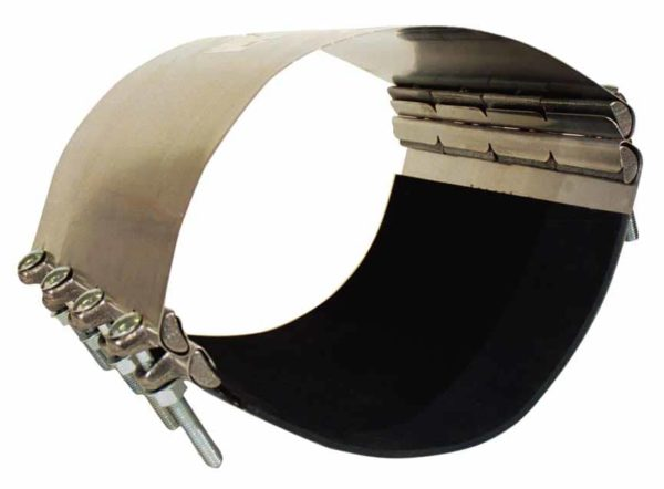 S.S. PIPE REPAIR CLAMPS-24 4999